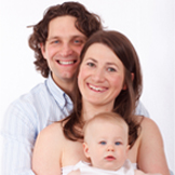 Satisfied family smiling at Family Dentistry winchester va